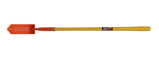 "Item No.51508 Trenching shovel 4""with Long solid fiberglass handle"